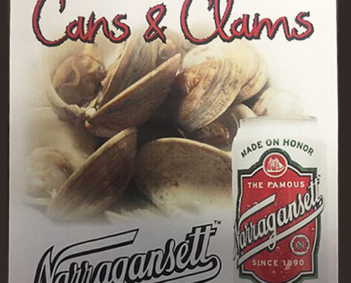 Narragansett Cans & Clams , Brennan's Bowery Bar, The Bowery, Brennan's Bowery Event