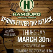 Hamburg Brewing, Hamburg Brewing Co, Brennans Bowery, The Bowery