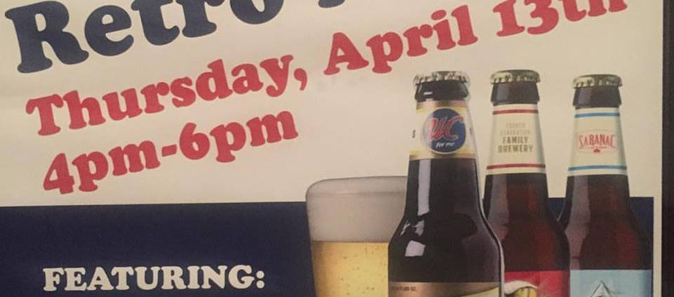Brennans Utica Club Retro Night, Retro Night, Saranac Beer, Beer Event